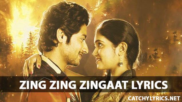Zing Zing Zingat- Marathi Song Lyrics